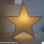 Vill köpa rosa/vit/svart stjärnlampa