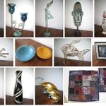 Inredningsföremål, hantverk, dekoration till salu