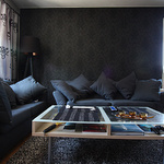Vardagsrum som behöver färg