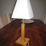 "Bordslampa ""Venice"" från Lampgustaf oljad ek"