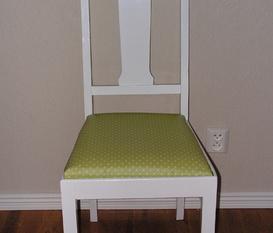 Ommålade möbler