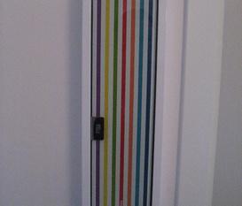Lite färg i hallen