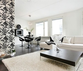 Nyrenoverad lägenhet
