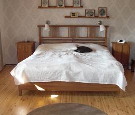 Vårat sovrum