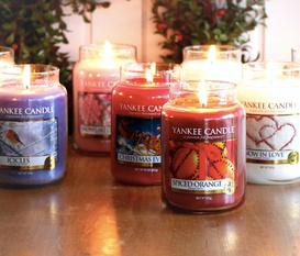 Skapa julstämning med Yankee Candle!