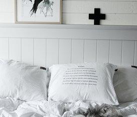 Renoverat sovrum före och efterbilder