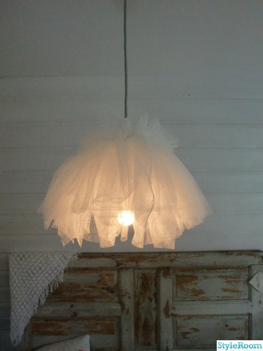 lampa,tyll,diy,diy lampa,do-it-yourself