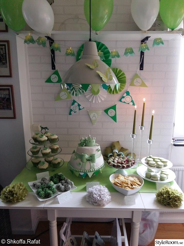 Babyshower hemma hos shkoffa for Baby dekoration