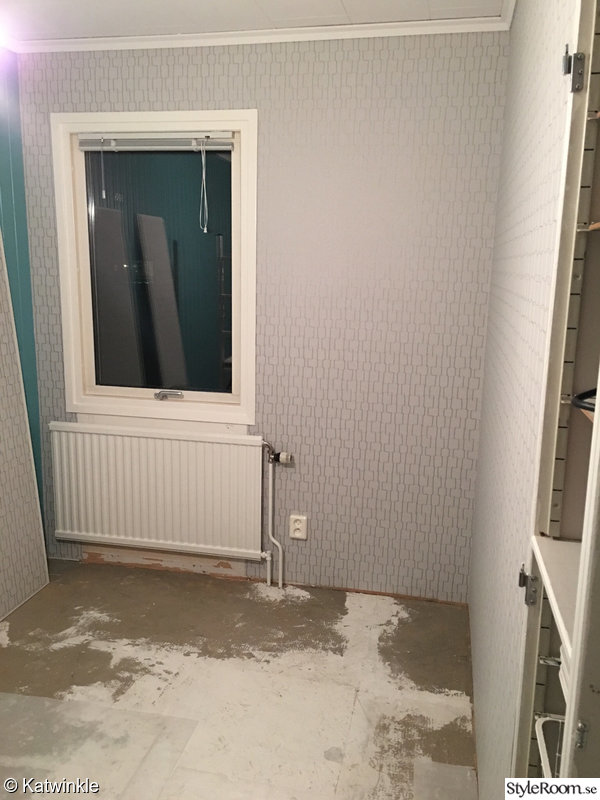 tapet,hemmakontor,under renovering