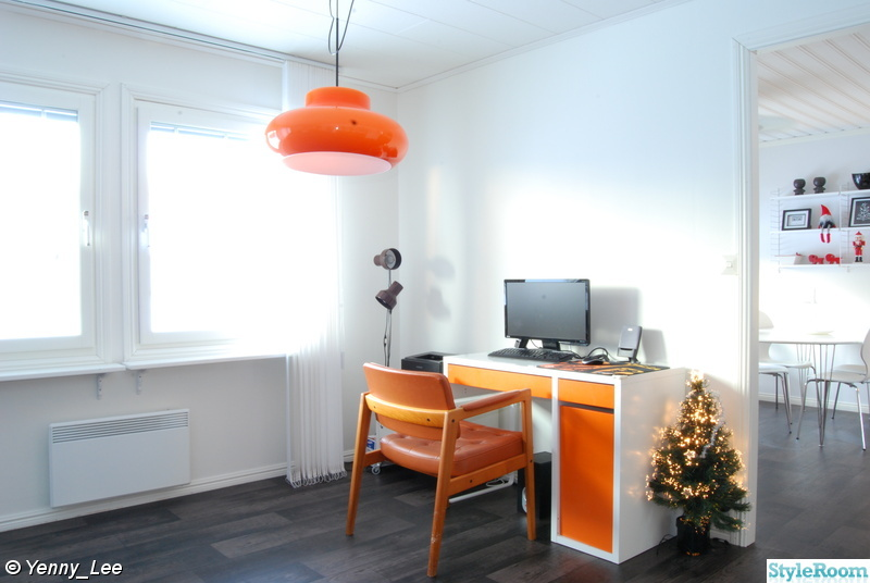 orange,datahörna,retrolampa