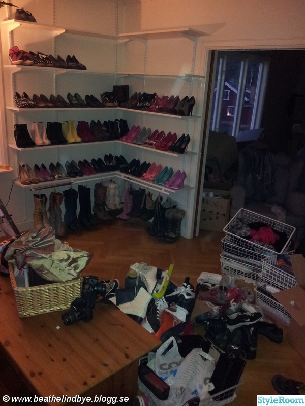 Walk in Closet Hemma hos Beathe