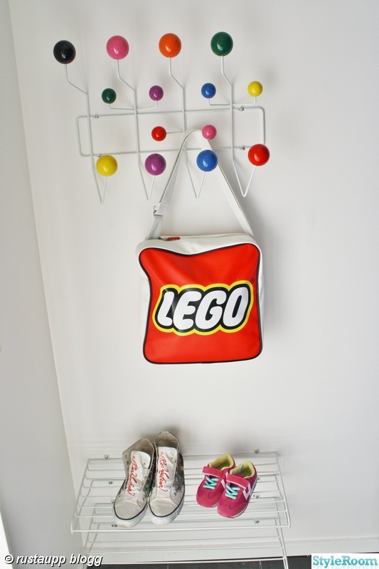 färg,klädhängare,hall,lego,hang it all