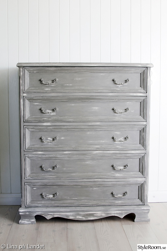 byrå,shabby chic,lantlig,chalk paint,french linen