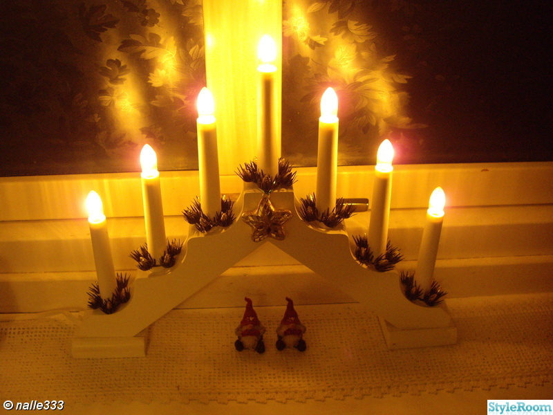 jul,tomtar,adventssljusstake