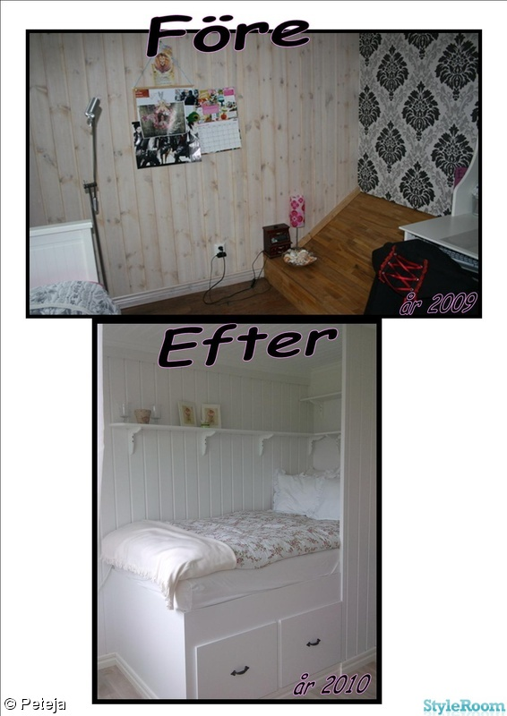 ikea,spegel,flickrum,renovering,byrå