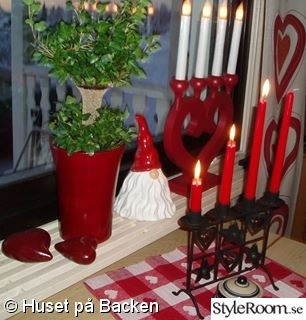 adventsljusstake,tomte,adventstake,julduk,julgardin