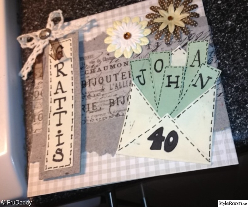 scrapbooking,diy,födelsedagskort,do-it-yourself