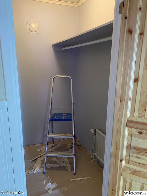 klädkammare,under renovering