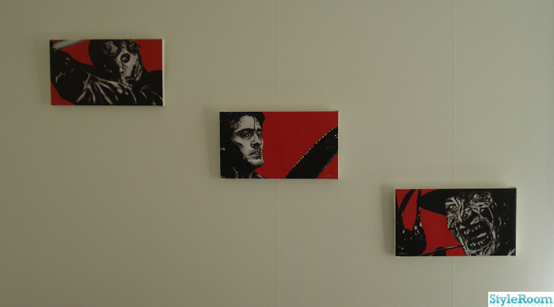 jason,ash,freddy,canvas,film