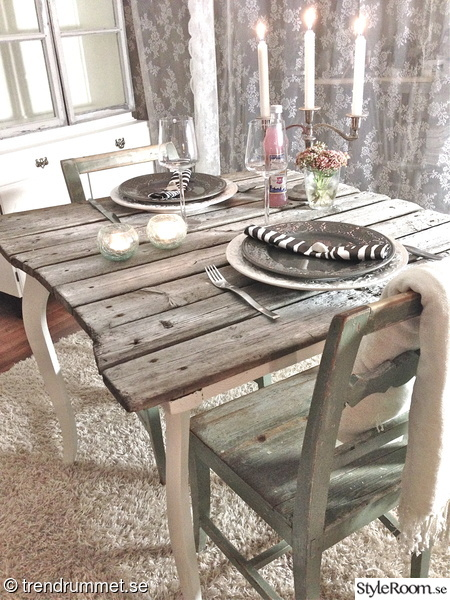 Shabby chic inspiration ideer och tips