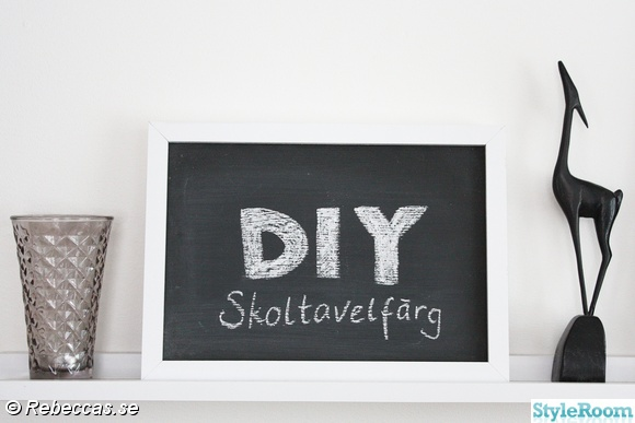 pyssel,diy,skoltavelfärg,do-it-yourself