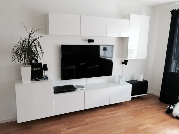 best tv m belkombination hemma hos nas gah. Black Bedroom Furniture Sets. Home Design Ideas