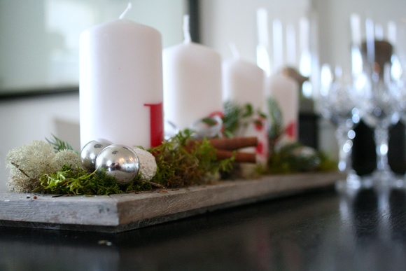 advent,julpynt,mossa,kottar,kanel