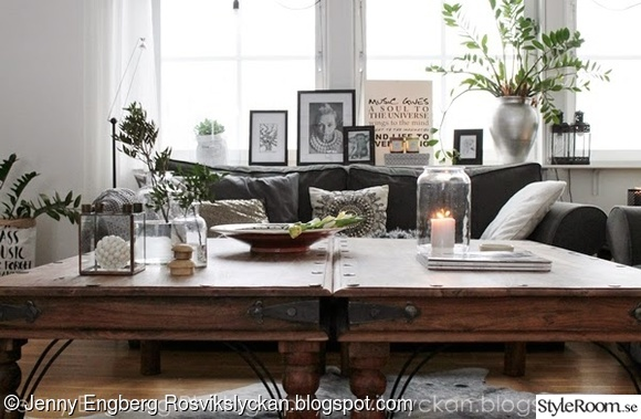 vardagsrum,rustikt,bord,table,livingroom