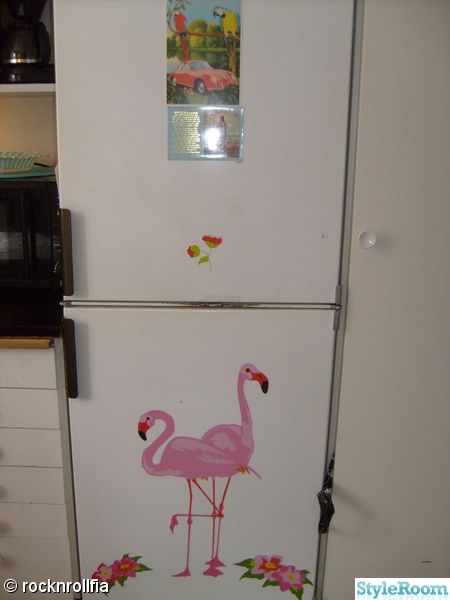 flamingo,kök,kitsch