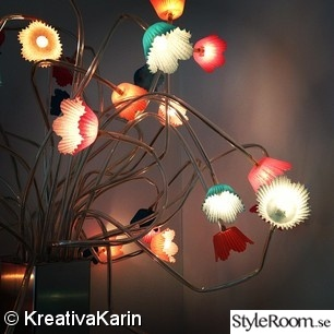 lampa,muffinsformar,diy,pyssel,do-it-yourself