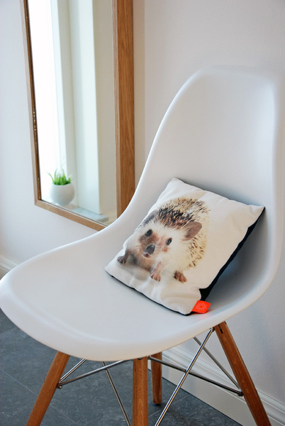 kudde,by nord,igelkott,eames,eames chair