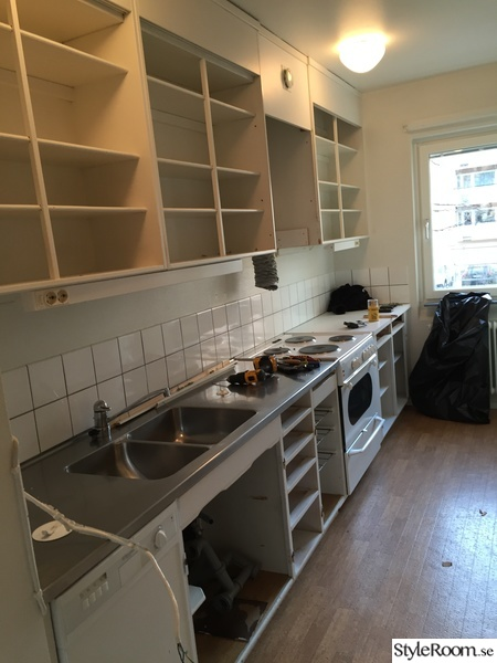 under renovering,kök,köksrenovering