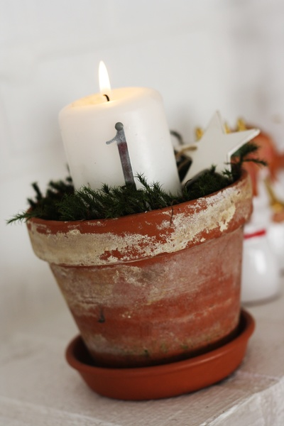 advent,jul,ljus,pyssel,kruka