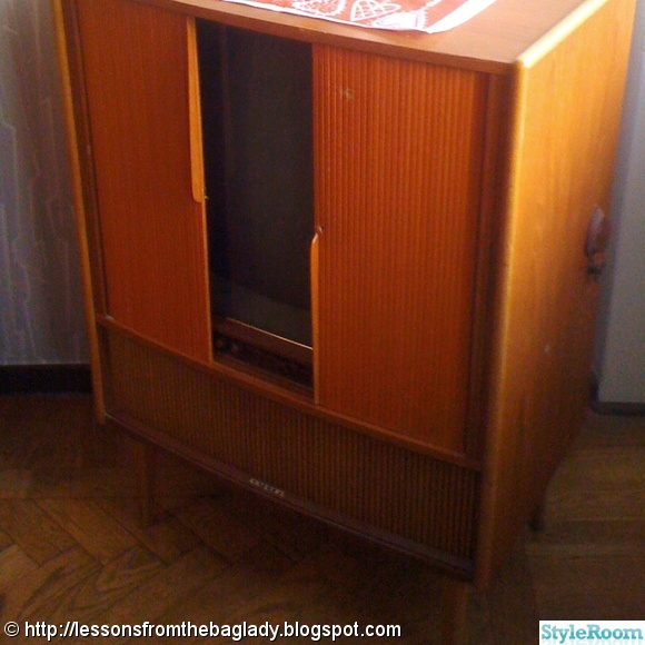 tv,1950-tal,teak,retro,50-tal