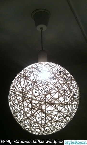 random light,lampa,diy,do-it-yourself
