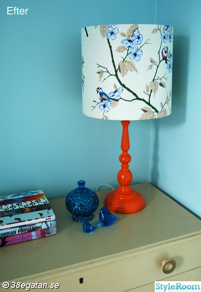 bordslampa,fåglar,diy,diy lampa,do-it-yourself